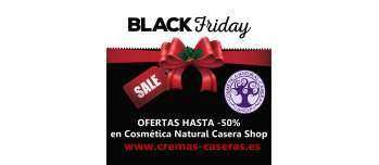 Black Friday en Cosmética Natural Casera Shop